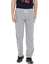 Duke Solid Lower For Men Regular Fit Cotton Blend Material Grey Melange Color