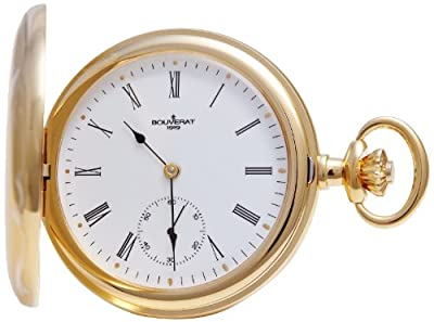 Bouverat 1919 Pocket Watch BV821111 White Dial Quartz