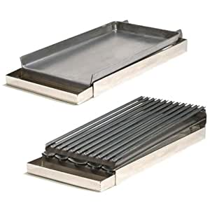 Amazon com rocky mountain cookware mgb12 8 2 burner add on griddle