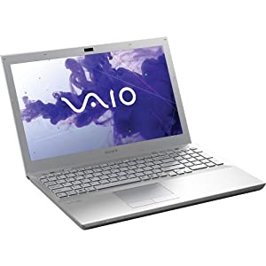 Sony VAIO VPCSE25FX/S 15.5 Inch Laptop (Platinum Silver)
