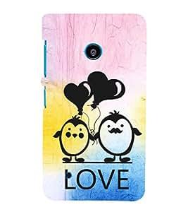 EPICCASE lovers pose Mobile Back Case Cover For Nokia Lumia 530 (Designer Case)