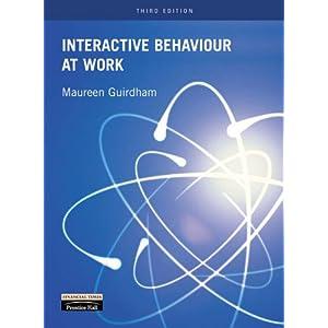 Interactive Behaviour at Work (Paperback)
