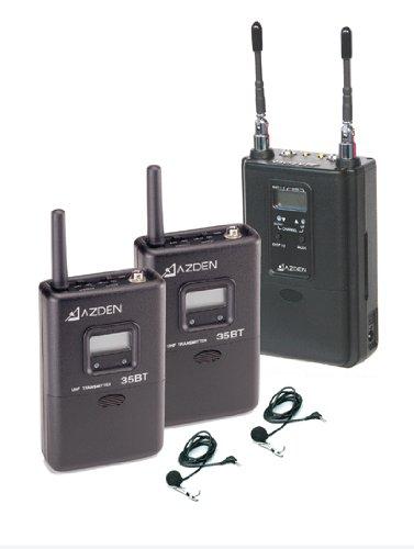 Azden 330Ult 2-Channel Uhf Wireless Microphone System