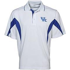 Kentucky Wildcats PGA TOUR Mens Colorblock Polo Shirt by PGA TOUR