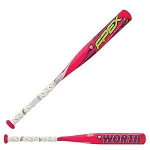 Worth FPEX-10 Fast Pitch Bat (26-Inch/16-Ounce)