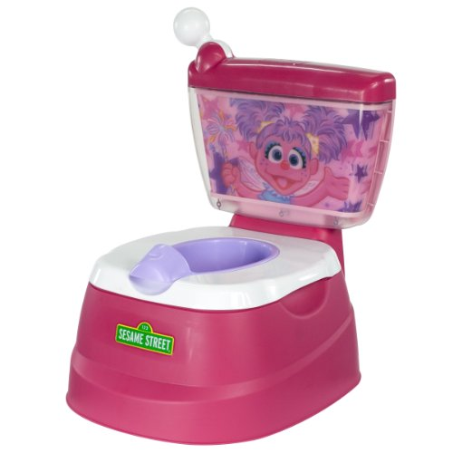 Sesame Street Abby Cadabby Magical Potty Chair, Fuchsia