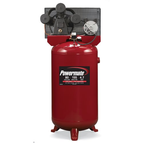 Great Deal! PowerMate Vx PLA4708065 80-Gallon Electric Air Compressor