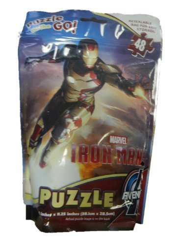 Marvel Iron Man 3 Puzzle on the Go - 1