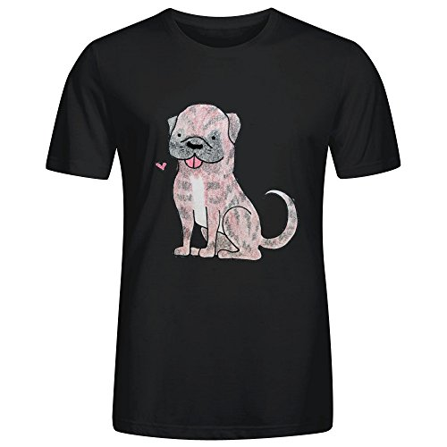 FORERIC Boxer Dog F27 T Shirts For Men Black (Missouri Free Quilt T compare prices)