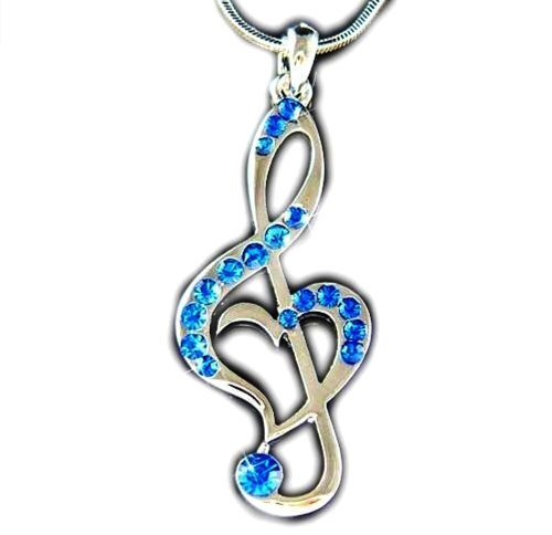 DianaL-Boutique-Treble-G-Clef-Music-Note-Heart-Pendant-Necklace-Blue-Crystals-Gift-Boxed-Fashion-Jewelry