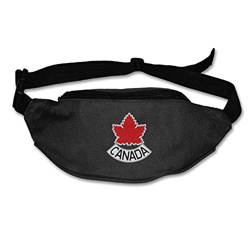 Esuie B.G 2016 World Cup Of Hockey Team Canada Running Waist Packs Bags