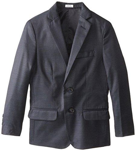 Calvin Klein Big Boys' Pin Dot Jacket, Sailblue, 10