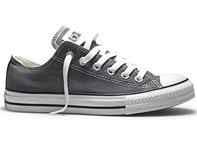 Converse Chuck Taylor All Star Lo Top Charcoal 5j794 Womens 5