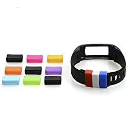 The Friendly Swede Silicone Fasteners for Garmin Vivofit Wristband (12 Pack)