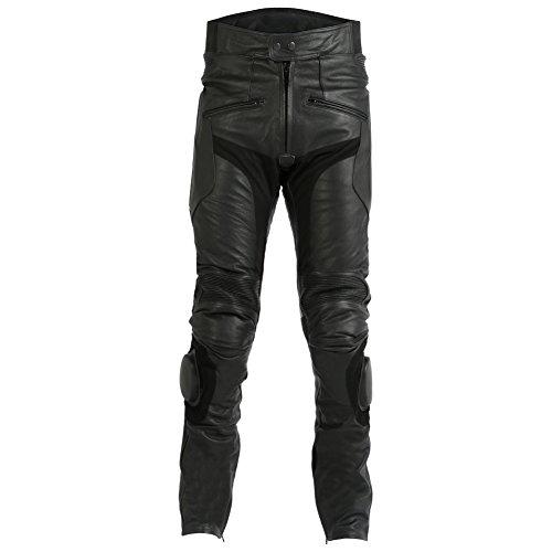 pantaloni-da-uomo-per-motociclismo-in-pelle-di-vacchetta-con-saponette-tutte-le-taglie-girovita-44-l