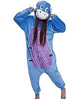 Samgu-bourriquet animal Pyjama Cospaly Party Fleece Costume Deguisement Adulte Unisexe
