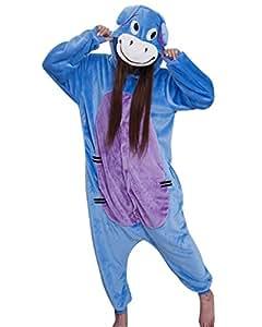 Keral Cosplay Kostüme Tierkostüme Erwachsene Pyjamas Kostüm Pyjamas Donkey S