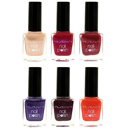 VERNIS A ONGLES, VERNIS A ONGLES NACRES, LOT DE VERNIS A ONGLES, COFFRET DE VERNIS A ONGLES, VERNIS A ONGLES YESENSY