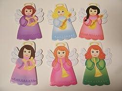 Angel Die Cut Notepads Set Of 6