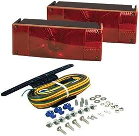 Blazer C6285 Low profile submersible trailer light kit-1 pair