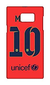 Barcelona Football Club - BARCA Design Mobile Cover for Samsung Galaxy Note 5 - Hard Case Back Cover - FCB Printed Designer Cover - SGN5FCBB124