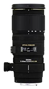 Sigma 70-200mm f/2.8 APO EX DG HSM OS FLD Large Aperture Telephoto Zoom Lens for Nikon Digital DSLR Camera