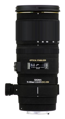 Sigma 70-200mm f2.8 EX DG OS HSM Lens for Nikon Digital and Conventional SLR Cameras