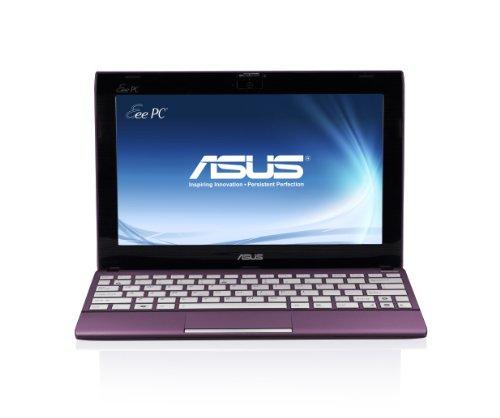 ASUS 1025CE-MU17-PR Netbook with Intel N2800 (1.86Ghz) Dual Core Processor; Matte Purple