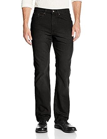 Lee Men's Premium Select Classic Straight Leg Jean, Double Black, 29x30