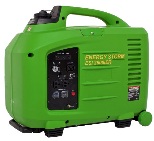Lifan Energy Storm Esi 2600Ier-Ca 2800 Watt 150Cc 4-Stroke Ohv Gas Powered Portable Inverter Generator With Remote Start/Stop Key Fob (Carb Certified)