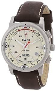 7e42a2d26 Buy Timex Men's Expedition E-Compass Watch T49818SU With Brown Leather Strap  at £104.94