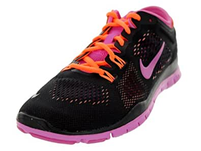 Nike Women's Free 5.0 TR Fit 4 Cross Training Shoes Size US 5 LT BASE GREY/ATOMIC ORANGE-VOLT-MD BS, ...