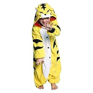 Tiger Kigurumi Onesie Disfraz - Niños