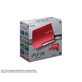 PlayStation 3 (320GB) �X�J�[���b�g�E���b�h (CECH-3000BSR)