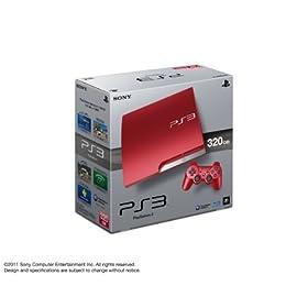 PlayStation 3 (320GB) �X�J�[���b�g�E���b�h (CECH-3000BSR)�y���[�J�[���Y�I���z