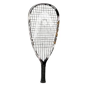 Buy Head Liquidmetal Hurricane Racquetball Racquet- Black White (3 5 8) by HEAD