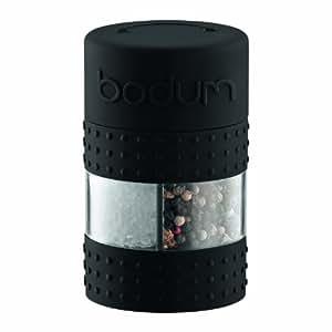 Bodum 11368-01 Moulin Poivre et Sel Combiné Noir