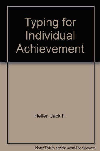 Typing for Individual Achievement PDF