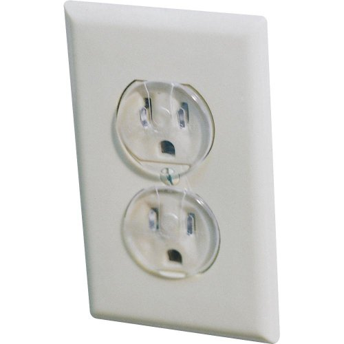Safety 1St Ultra Clear Outlet Plugs 2 Packs Of 12 Pc