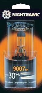 3 Pack GE Lighting 9007NH/BP Automotive High/Low Beam Light Nighthawk Headlight Bulb (25146) 1 Lamp per Blister