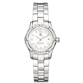 TAG Heuer Women's Aquaracer Diamond Accented Quartz Watch #WAF1416.BA0813