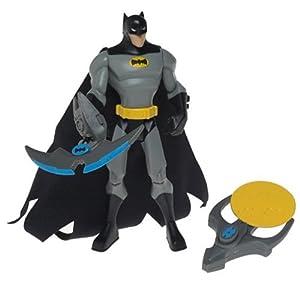 Amazon.com: Batman Cartoon Zip Action Batman Figure: Toys & Games