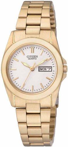 Citizen Ladies Quartz Watch EQ0562-54A with Day  &  Date