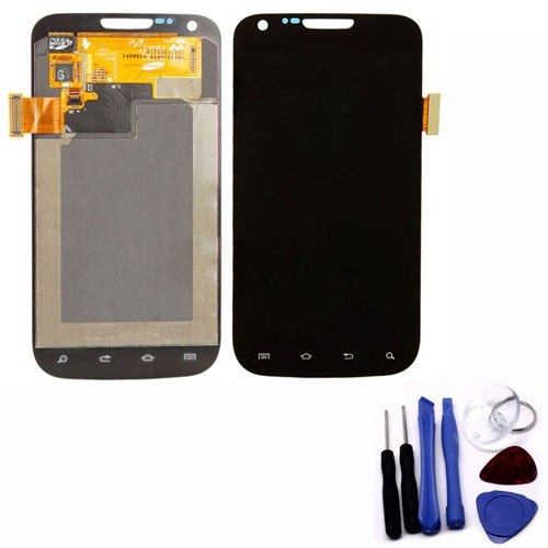 Zixia Shop Full Set Lcd Touch Replacement Full Lcd & Touch Screen Digitizer Glass Assembly For Samsung Galaxy S2 T989 - Black