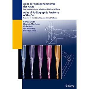 eBook Cover für  Atlas der R xF6 ntgenanatomie der Katze