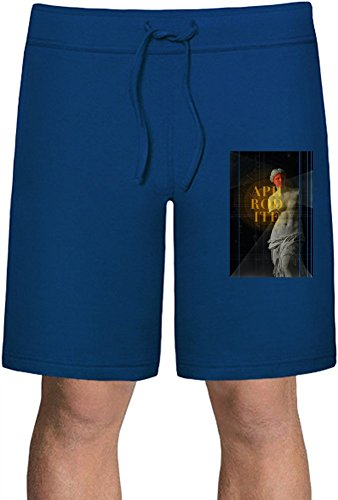 Aphrodite Summer Sweat Shorts  80% Cotton-20%Polyester  Classy Look & Unmatched Comfort  Ideal For Indoors & Outdoors Activities  Unique & Custom Sports Clothing By Teezer Tee (Roman Godess)