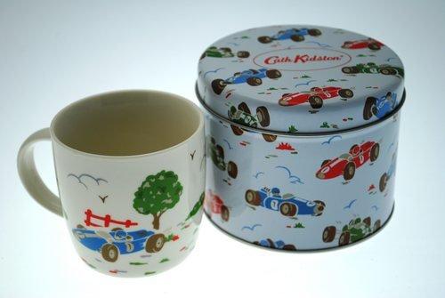 Cath Kidston Racing Cars Mug in Tin, Fine China