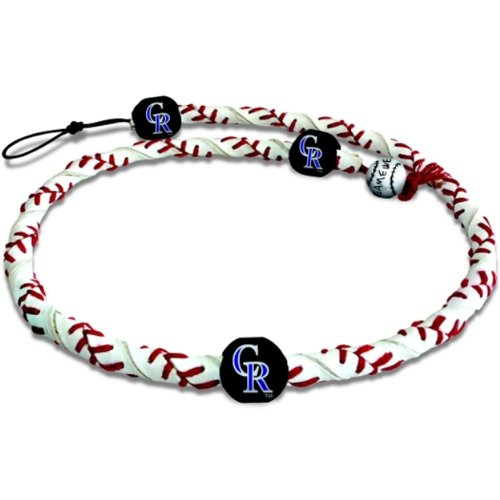 MLB Colorado Rockies Classic Frozen Rope Baseball Bracelet
