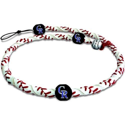 MLB Colorado Rockies Classic Frozen Rope Baseball Bracelet