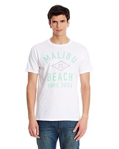Pure Juice Camiseta Manga Corta Malibu Blanco